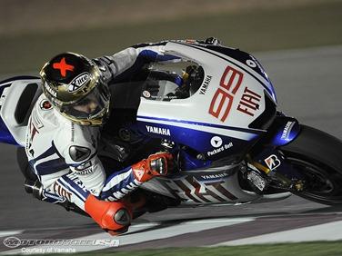 Lorenzo-Qatar-Test