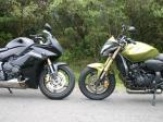 Honda CB 600F Hornet vs Honda CBR 600F - 3