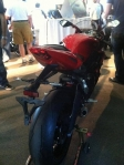 Flagra: Nova Triumph Daytona 675 2013