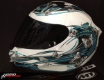Capacete MT Thunder Butterfly 1