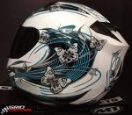 Capacete MT Thunder Butterfly 6