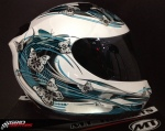 Capacete MT Thunder Butterfly 4