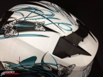 Capacete MT Thunder Butterfly 2