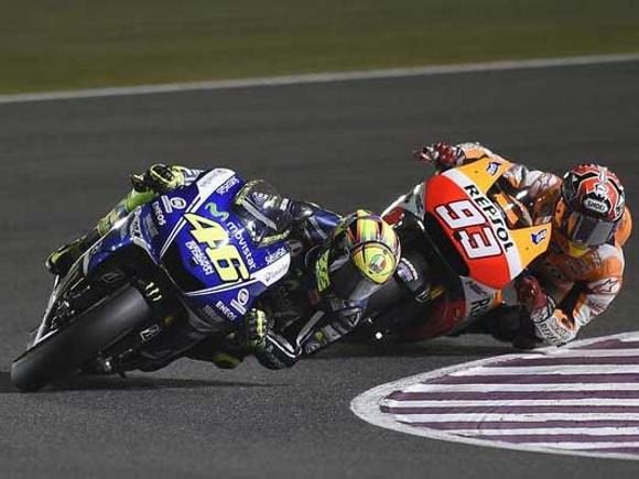 Valentino Rossi vs Marc Marquez 2014
