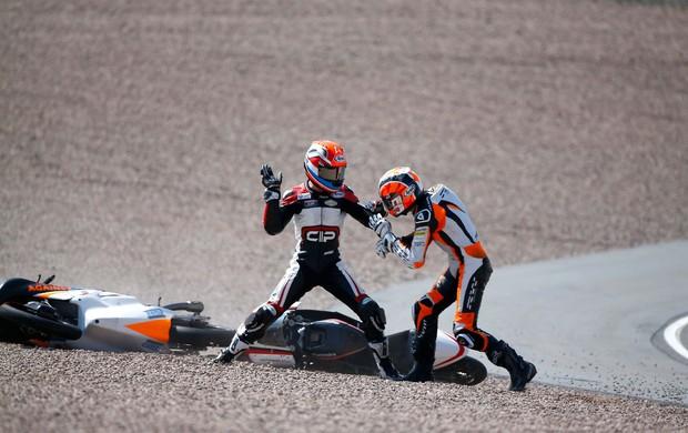 Briga de Pilotos na Moto3