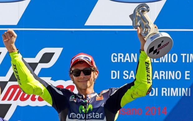 Valentino Rossi Podio