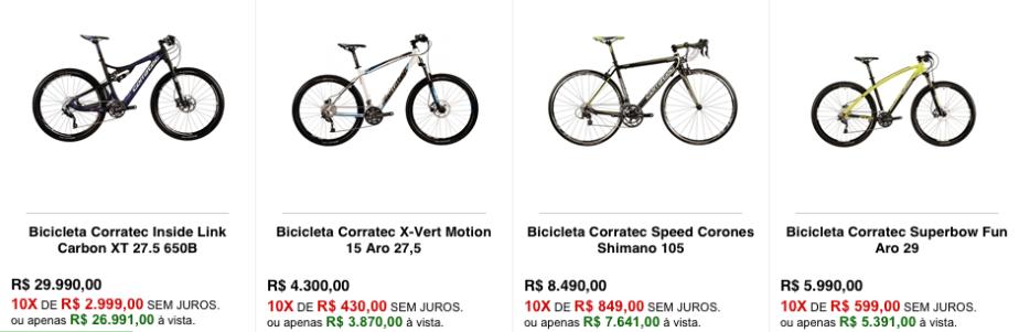 Bicicleta Corratec