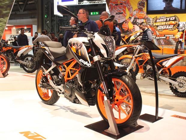 Moto KTM 390 Duke ABS