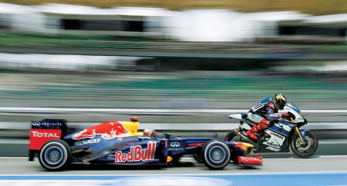 Fórmula 1 x MotoGP