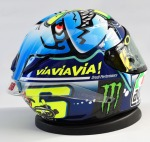 Capacete AGV Pista GP Misano 2015 (Valentino Rossi)