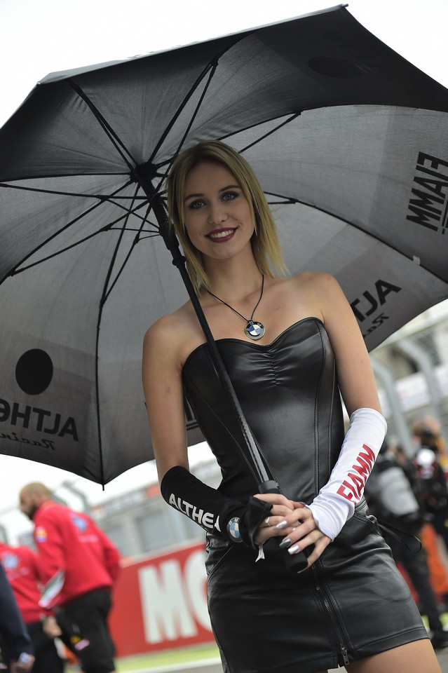 Paddock Girls WSBK Germania 2016