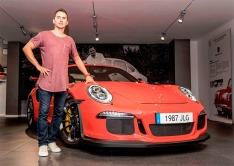 Jorge Lorenzo - Porsche 911 GT3 RS