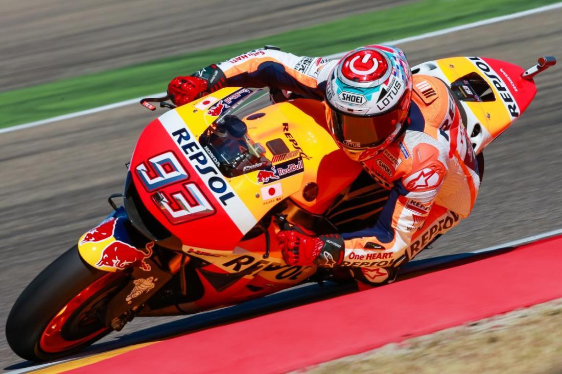 Foto: Marc Marquez - MotoGP Aragón 2016