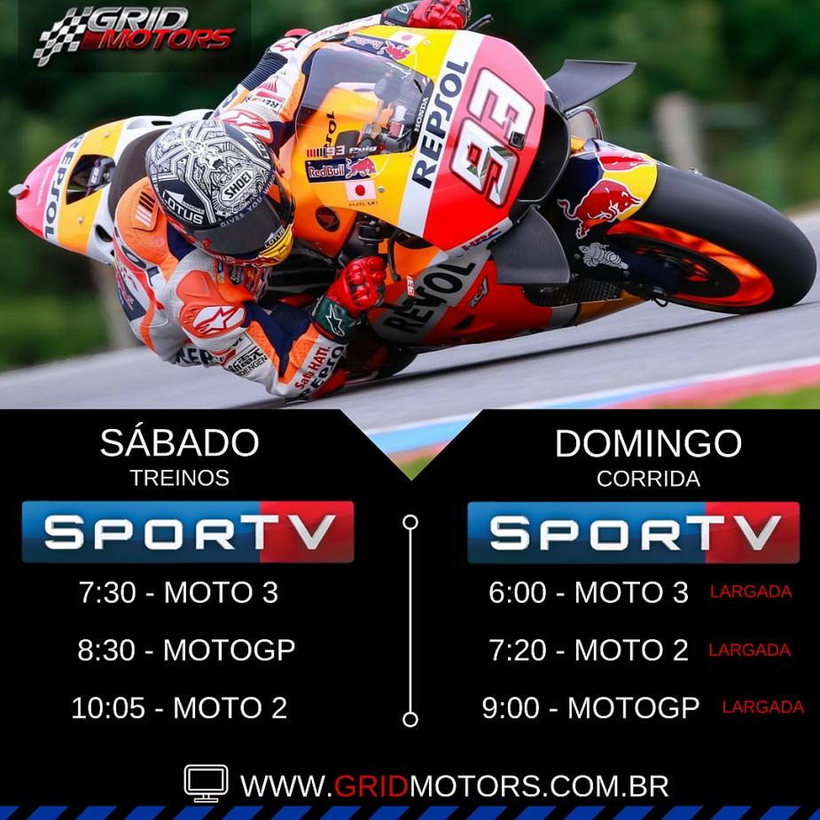 Horários MotoGP: GP de Aragón 2016