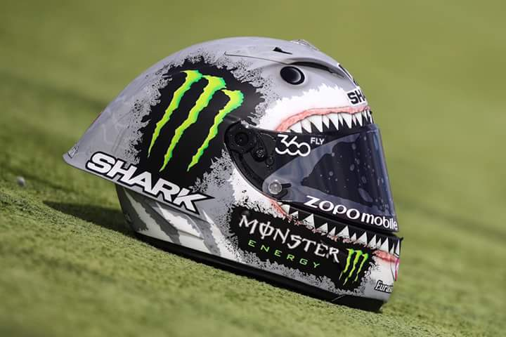 Capacete Shark Racer-R Pro Tubarão - Jorge Lorenzo