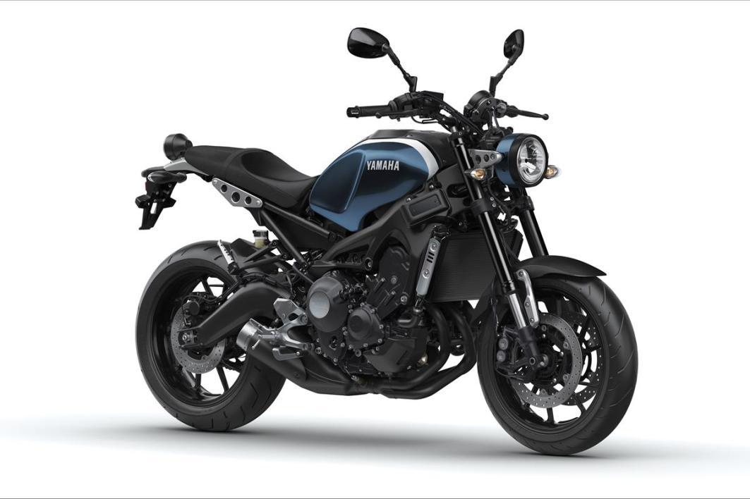 Foto: Yamaha XSR 900 2017 Azul