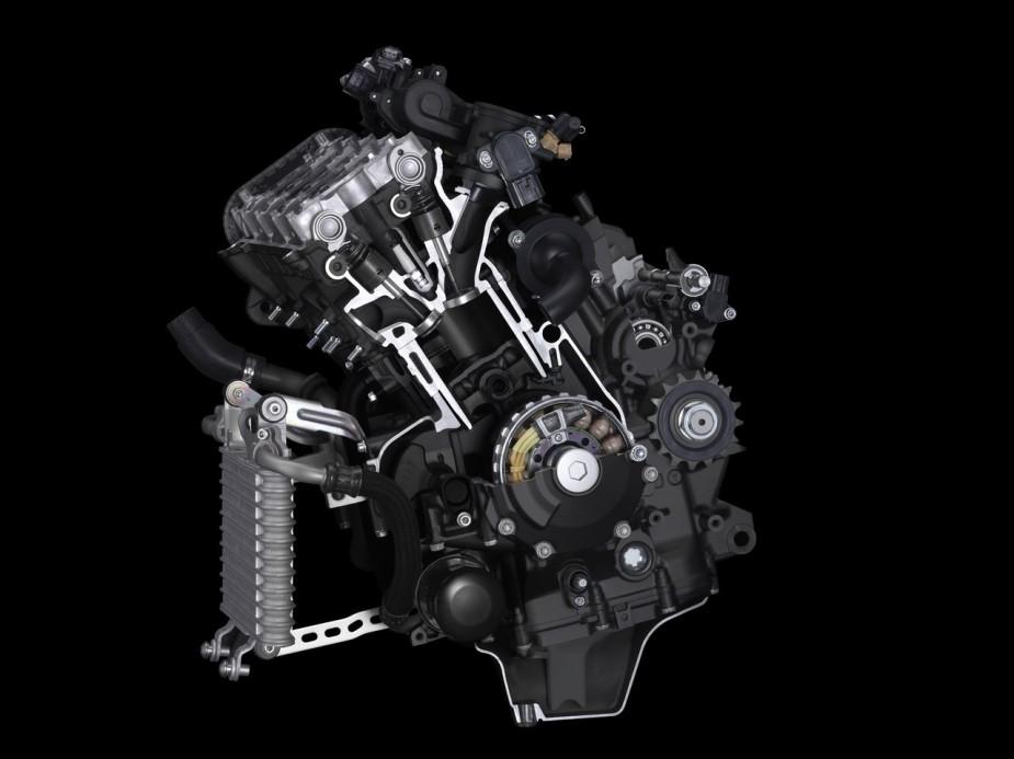 Foto: Yamaha YZF-R1M MY 2017 Motor