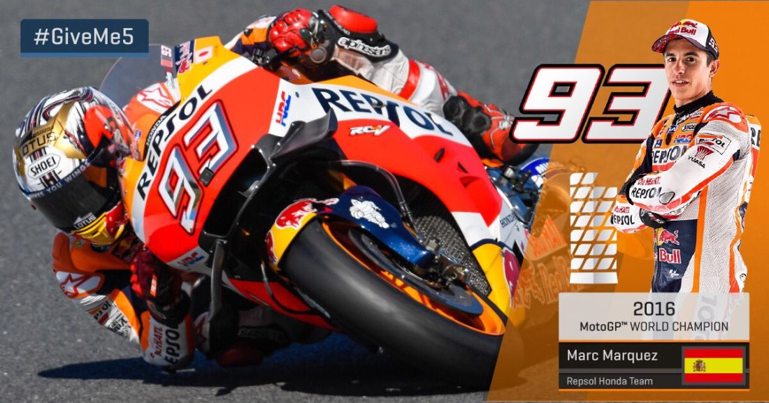 Marc Marquez é Campeão - MotoGP 2016