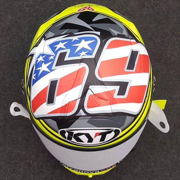 Capacete KYT - MotoGP - Aleix Espargaró