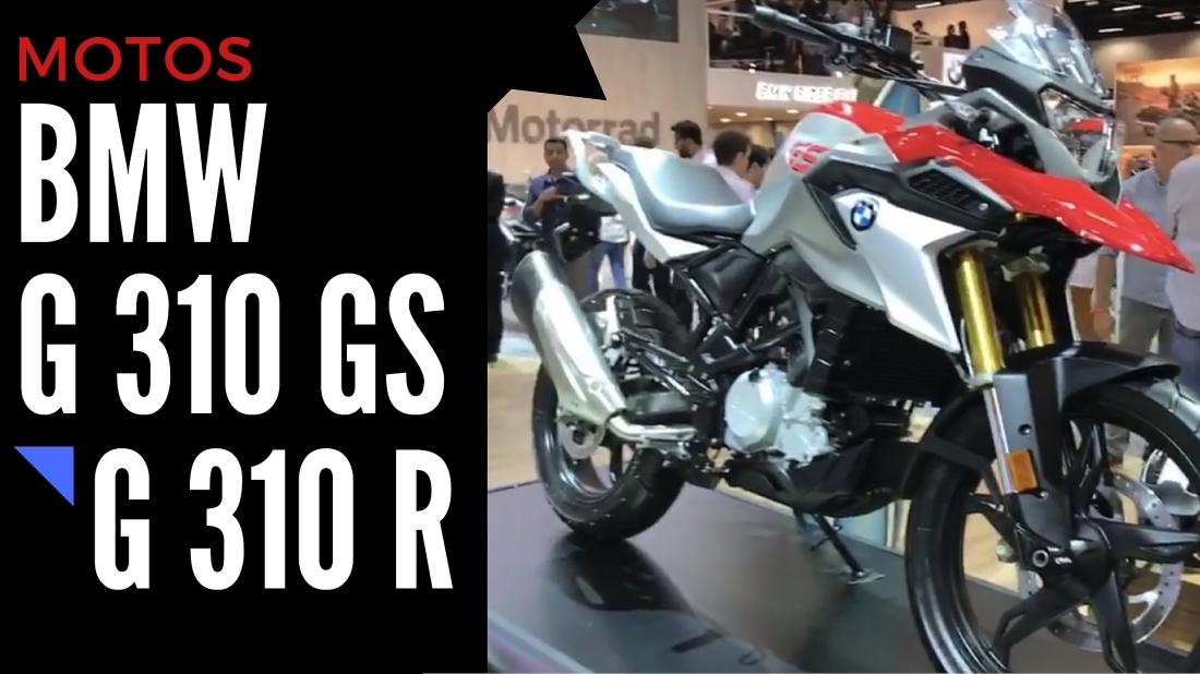 BMW G 310 GS e G 310 R - Salão Duas Rodas 2017
