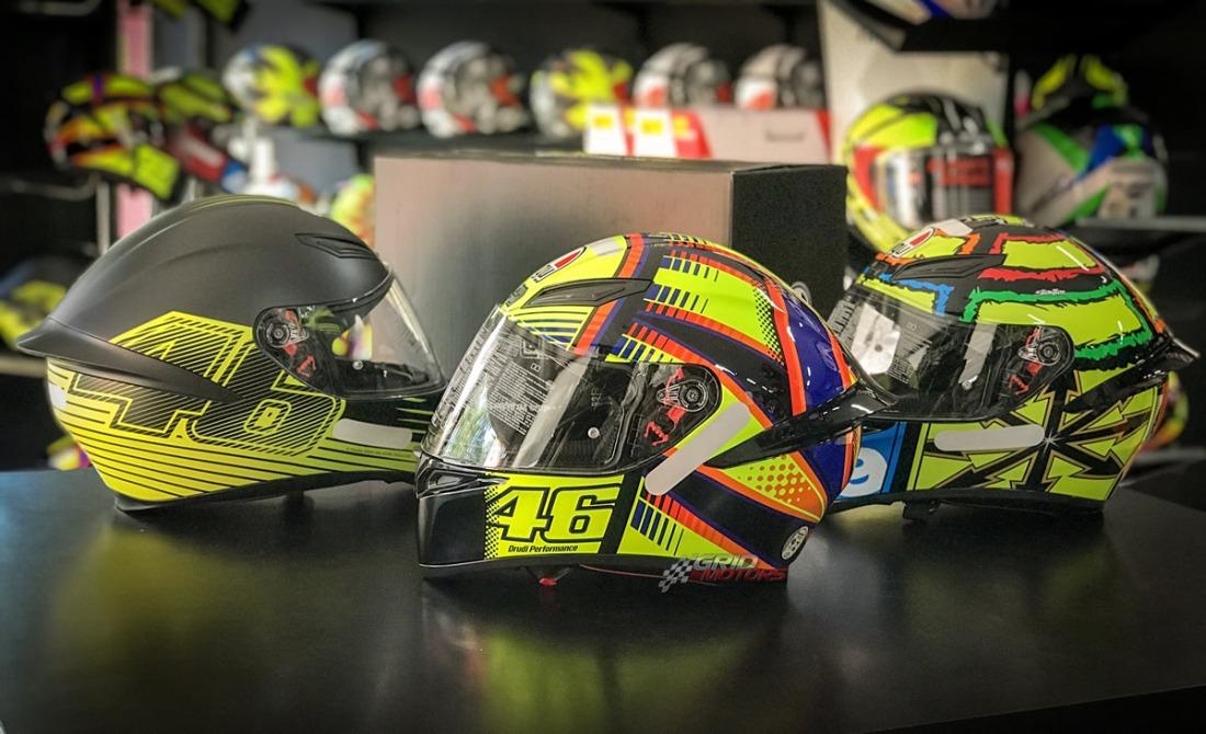 Capacete AGV K1 Valentino Rossi 2018