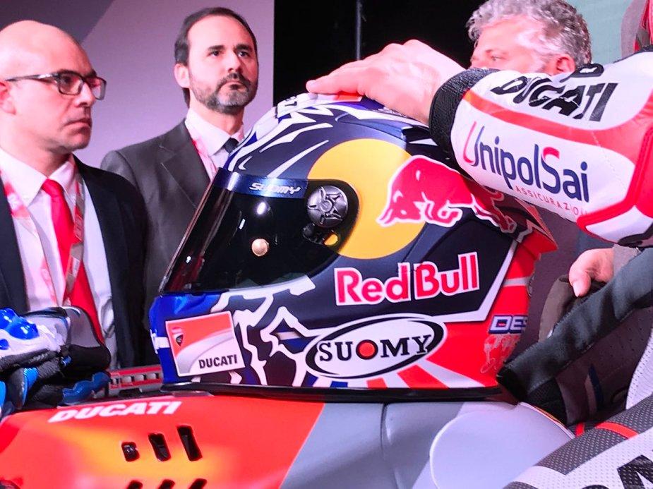 Andrea Dovizioso e RedBull