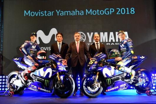 Apresentação Team Movistar Yamaha MotoGP 2018 (1)