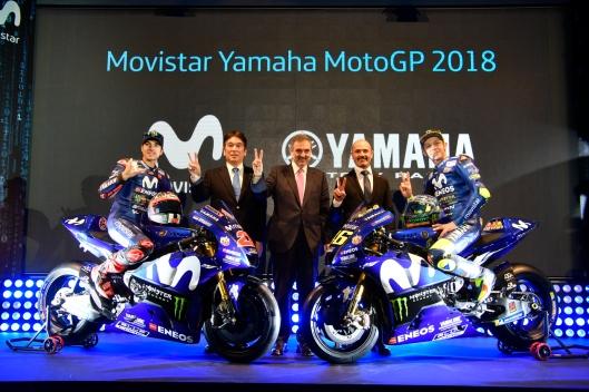 Apresentação Team Movistar Yamaha MotoGP 2018 (2)