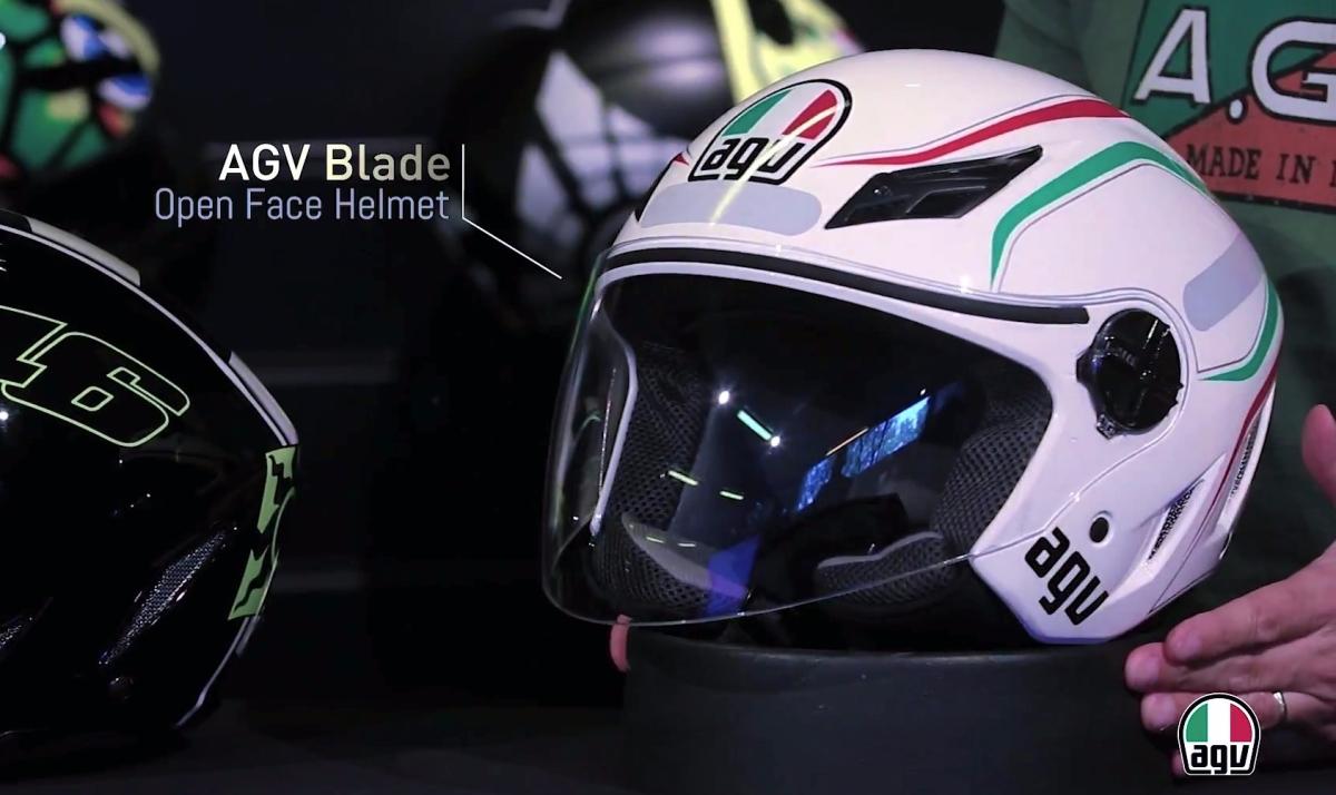 Conheça o Capacete AGV Blade aberto em detalhes