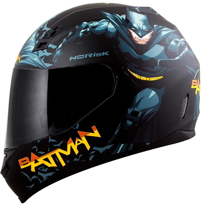 Capacete Norisk FF391 Batman Hero Preto - 1