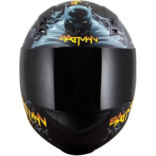 Capacete Norisk FF391 Batman Hero Preto - 4