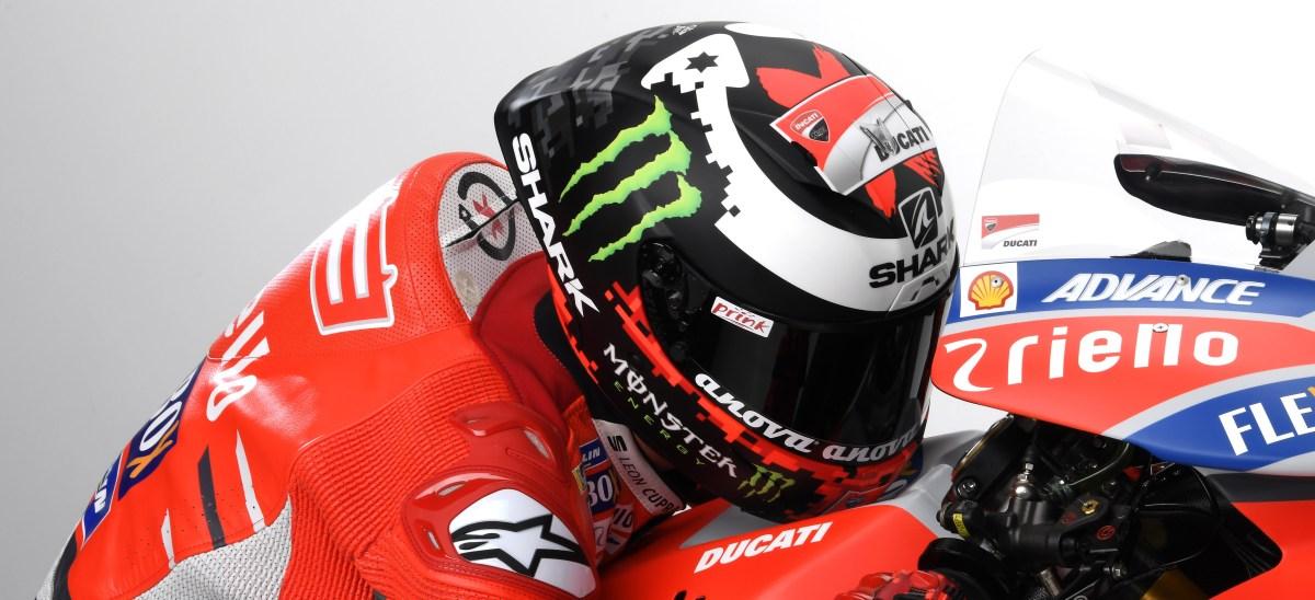 Novo Capacete Shark Race-R Pro Jorge Lorenzo 2018 para a MotoGP