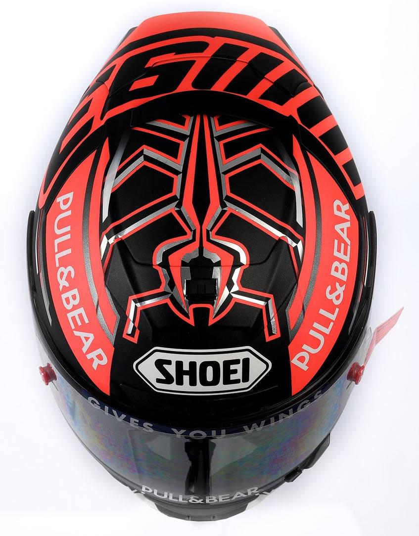 Capacete Shoei X-Spirit III Marc Marquez 2018 (3)
