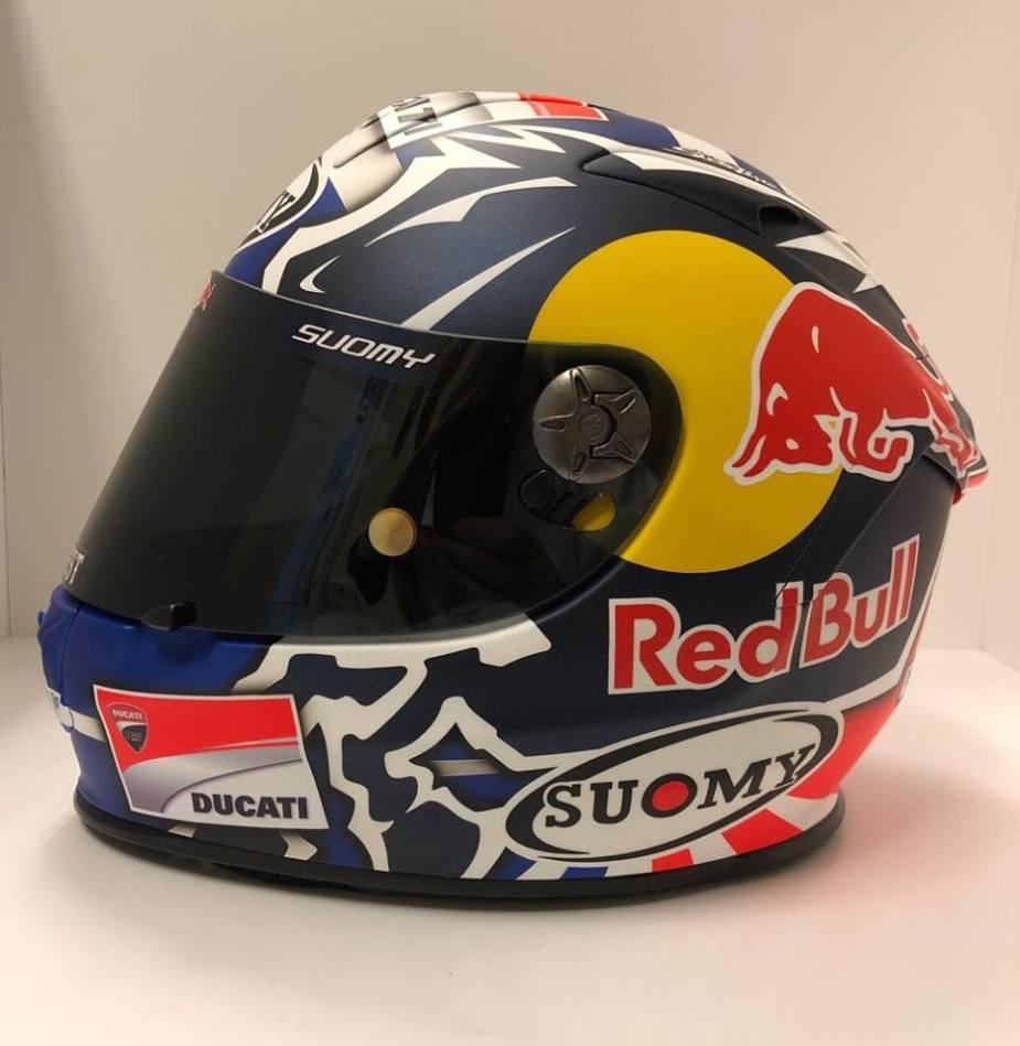 Capacete Suomy SR Sport Andrea Dovizioso 2018