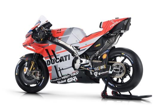 Nova Ducati Desmosedici GP18 para a MotoGP 2018