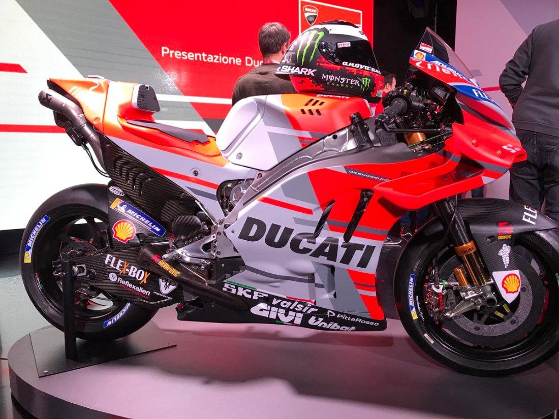 Nova Ducati GP18 2018 do Jorge Lorenzo