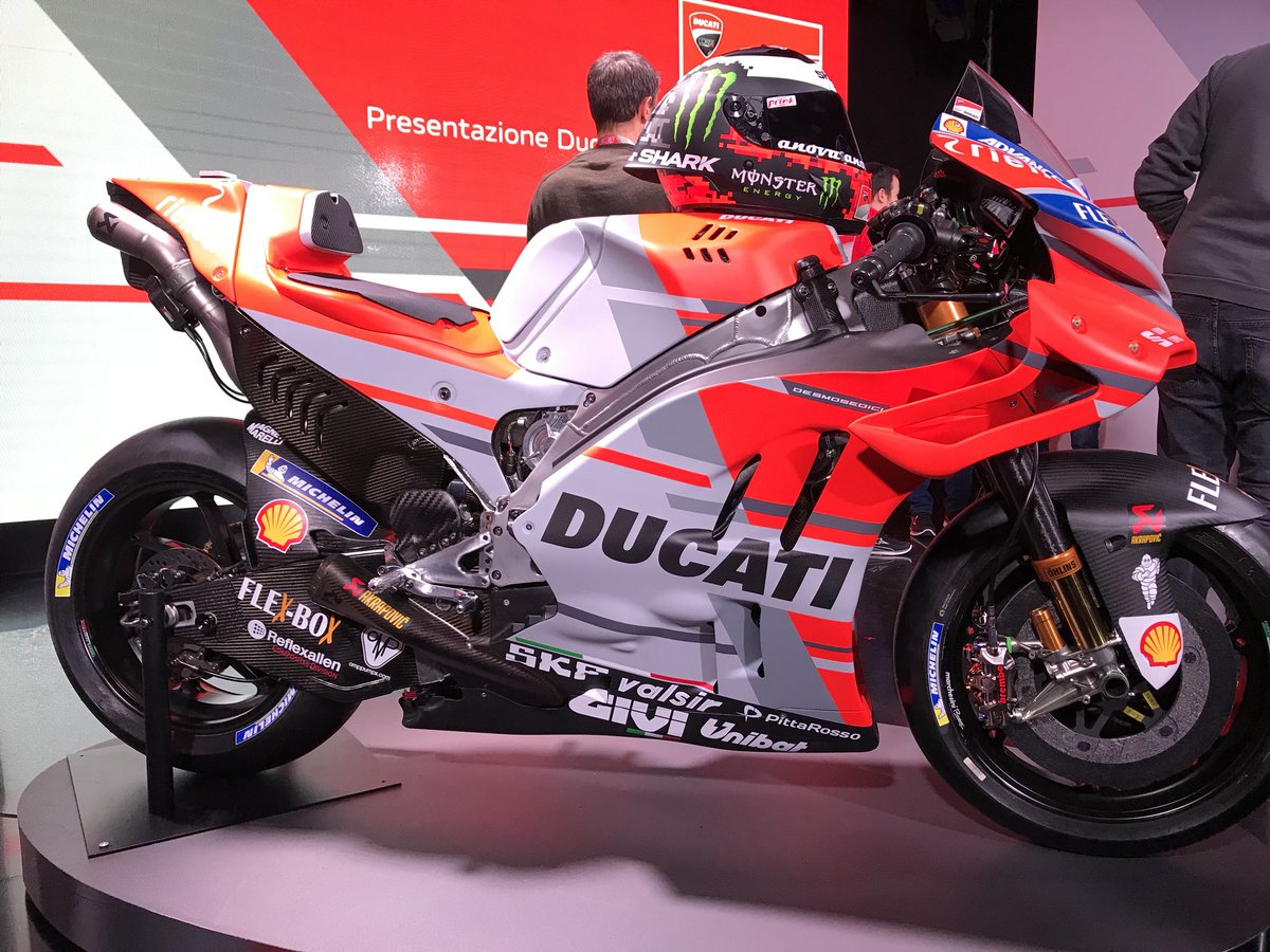 Nova Ducati GP18 2018 do Jorge Lorenzo