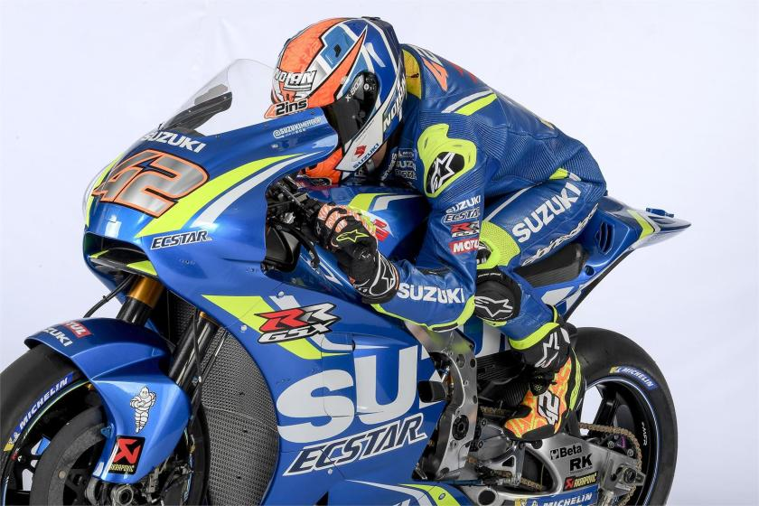 Equipe Suzuki Ecstar MotoGP 2018 (1)
