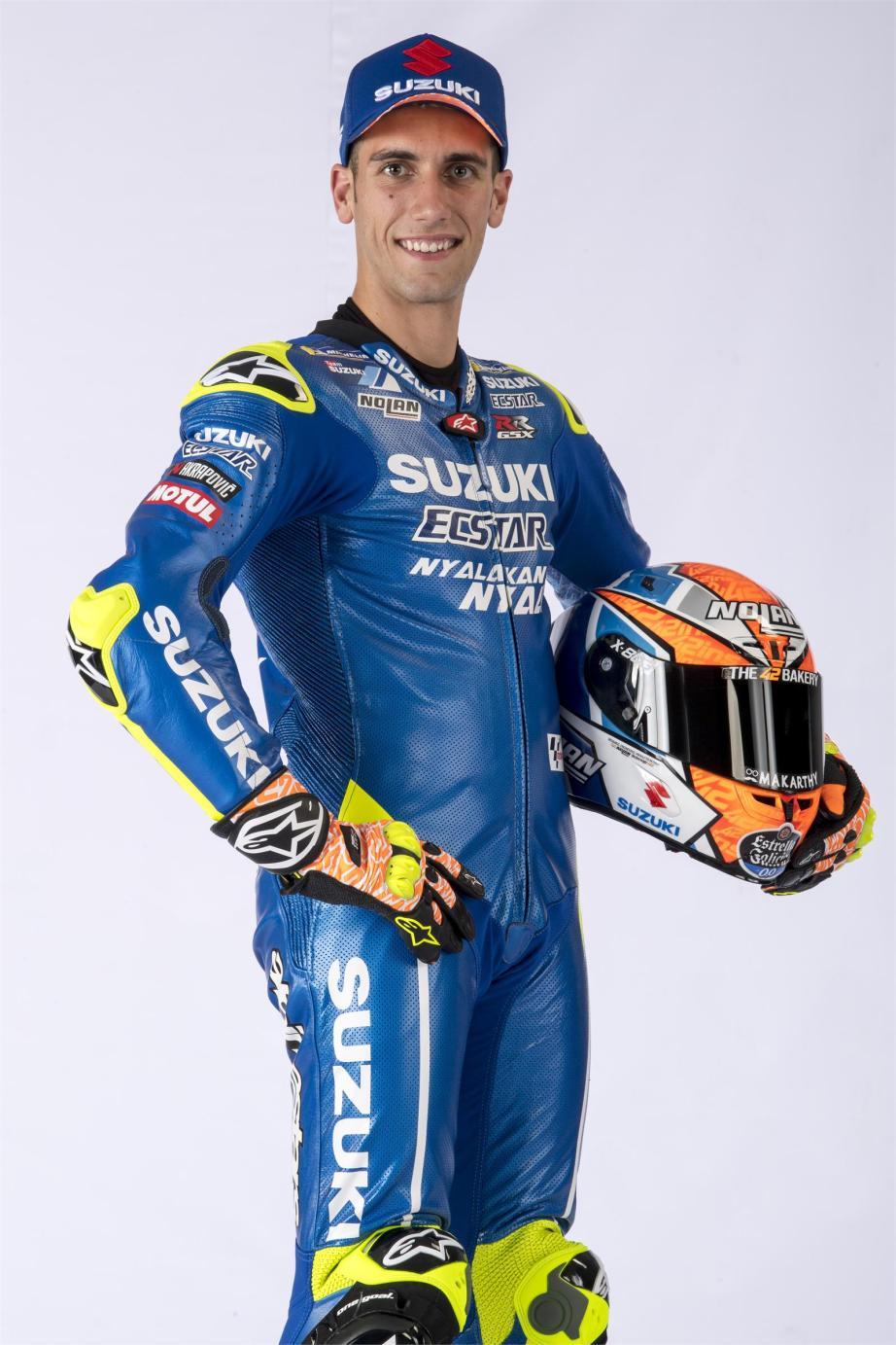 Equipe Suzuki Ecstar MotoGP 2018 - Alex Rins (1)