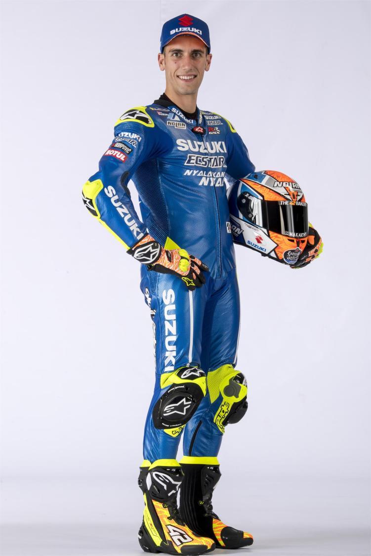 Equipe Suzuki Ecstar MotoGP 2018 - Alex Rins (10)