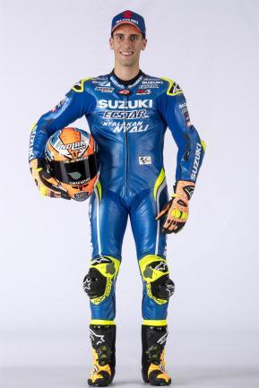 Equipe Suzuki Ecstar MotoGP 2018 - Alex Rins (2)