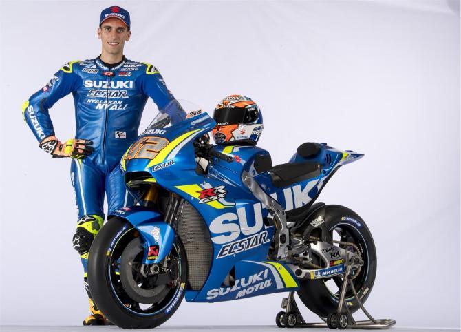 Equipe Suzuki Ecstar MotoGP 2018 - Alex Rins (4)