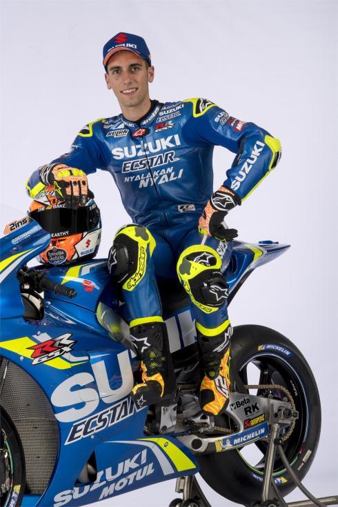Equipe Suzuki Ecstar MotoGP 2018 - Alex Rins (7)