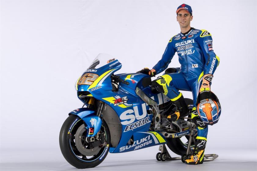 Equipe Suzuki Ecstar MotoGP 2018 - Alex Rins (8)