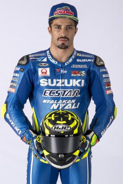 Equipe Suzuki Ecstar MotoGP 2018 - Andrea Iannone (1)