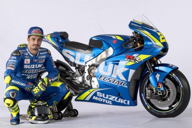 Equipe Suzuki Ecstar MotoGP 2018 - Andrea Iannone (6)