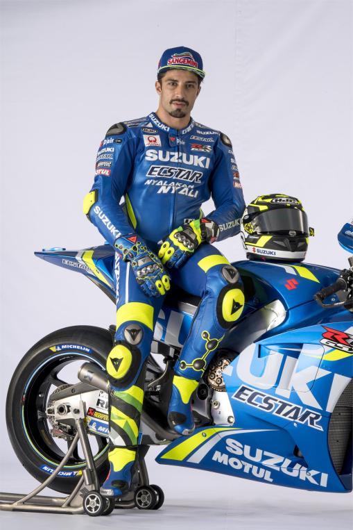 Equipe Suzuki Ecstar MotoGP 2018 - Andrea Iannone (8)