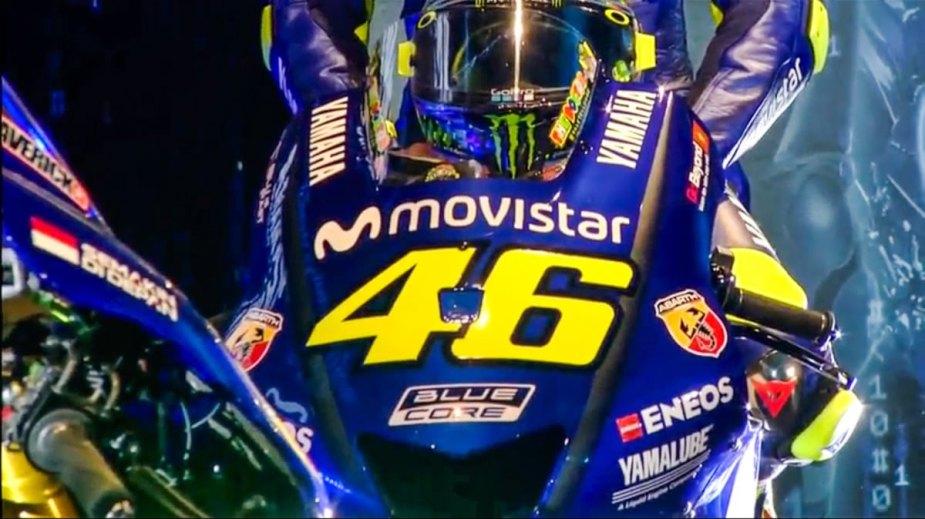 Yamaha M1 2018 MotoGP Valentino Rossi 46