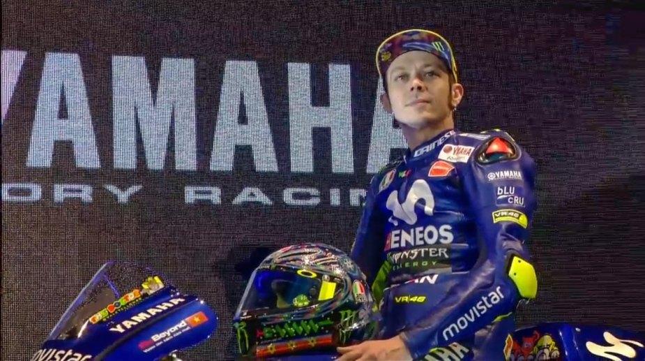Yamaha M1 2018 MotoGP Valentino Rossi