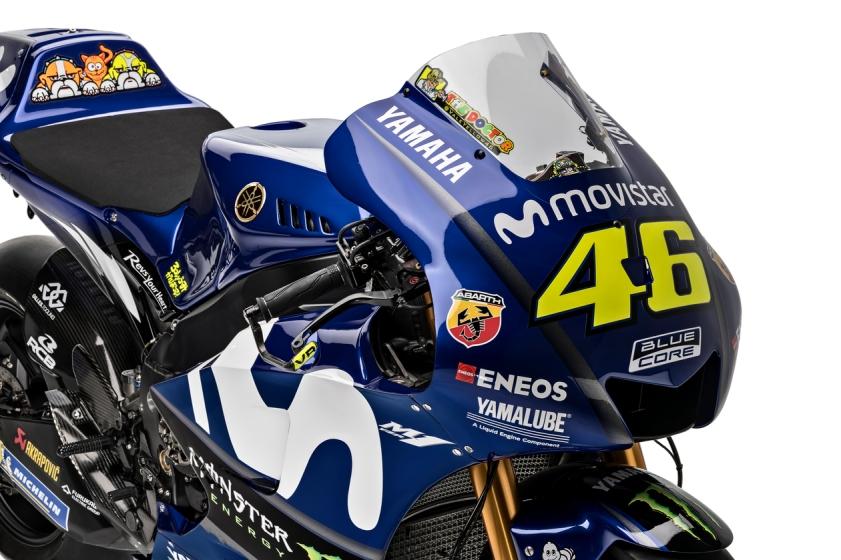 Yamaha YZR M1 2018 - Valentino Rossi - MotoGP (9)